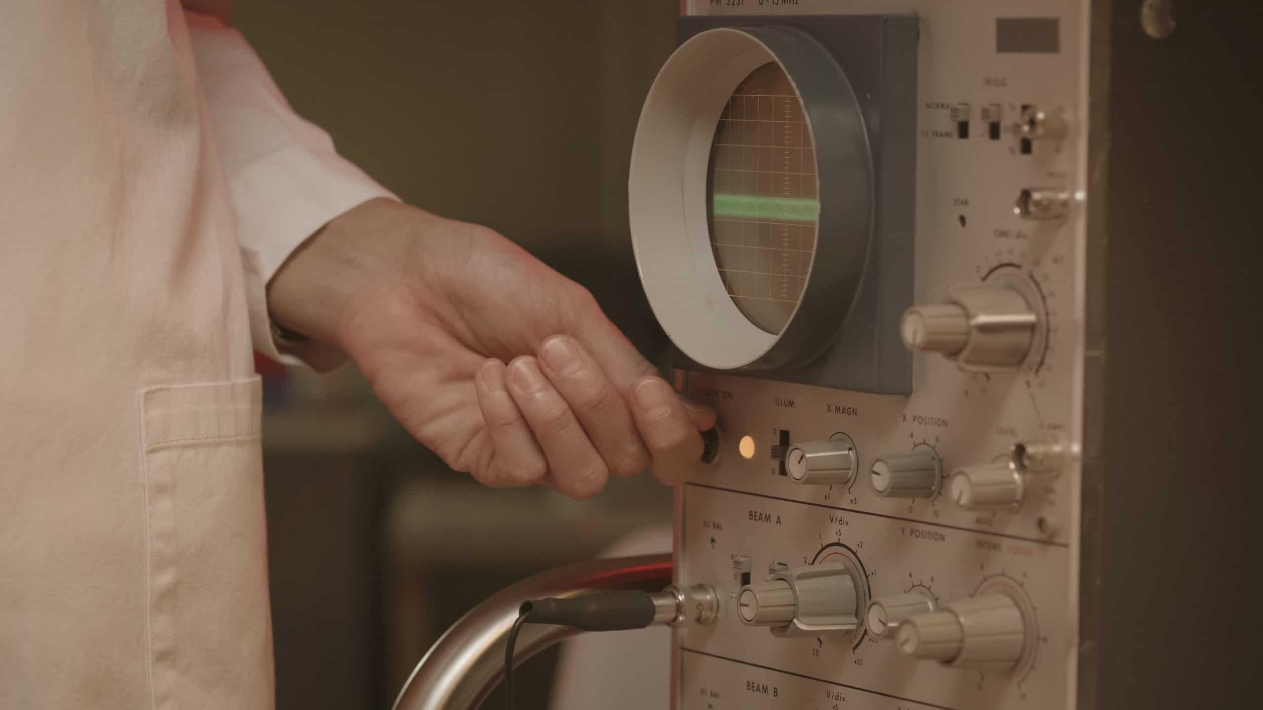 Máquinas grandes se utilizaban para tareas puntuales por científicos