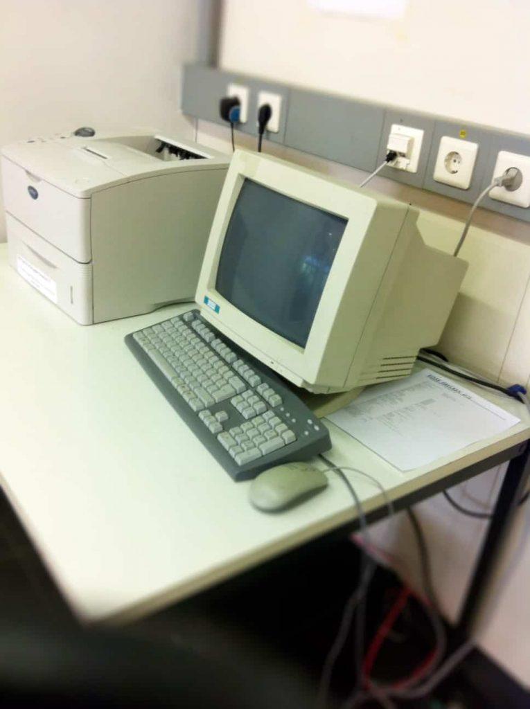 Precursores de la computadora moderna